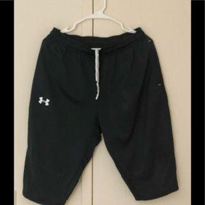 Under Armour fleece shorts